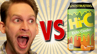 Hi-C Ecto Cooler Review - Ghostbusters Promotion - Video