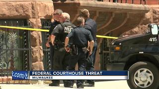 Man arrested for making threats at federal courthouse - Video