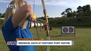 Archery at Medieval Days - Video