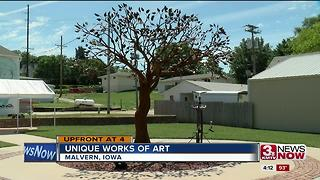 Man sculpts trees from metal in retirement - Video