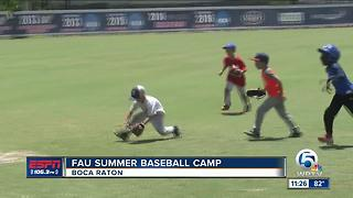 FAU Summer Baseball Camp - Video