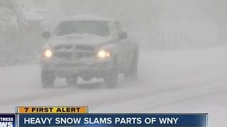 Southtowns snow - Video
