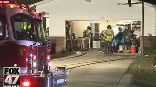 Fire causes minor damage to home in Delta Township - Video