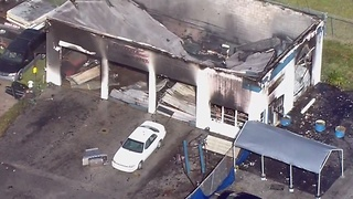 Martin business destroyed by fire - Video