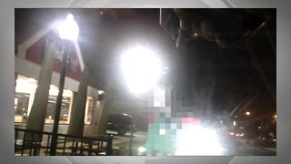 Knife-wielding suicidal man was saved by Grosse Pointe Farms Police officers - Video