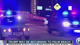 Trump may be returning to Palm Beach - Video
