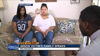 Family of Milwaukee arson fire victim reacts. - Video