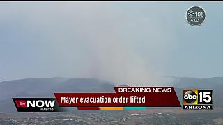Goodwin fire burns 25,000 acres but is now 25% contained - Video