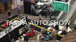 Digital Short: Auto Show comes to Tampa Convention Center - Video