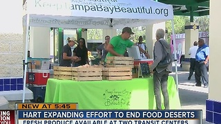 HART expanding effort to end food deserts - Video
