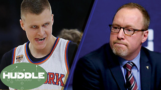 Knicks TRADING Porzingod!? Cavs Fire Griffin -The Huddle - Video