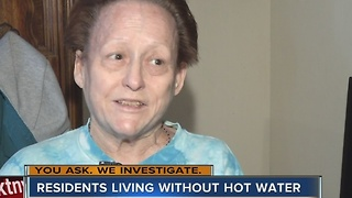 YOU ASK. WE INVESTIGATE. Apartment residents say no hot water for 3 months - Video