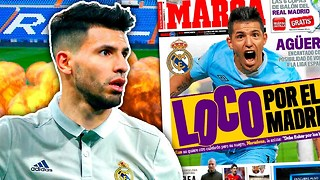 Could Sergio Agüero Quit Manchester City For Real Madrid?! | #TransferTalk - Video