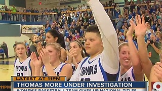 Thomas More women's basketball under investigation