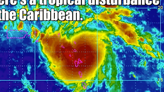 Invest 99L is headed for Florida - Video