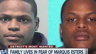 Marquiese Esters is one of Detroit's Most Wanted - Video