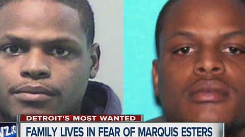 Marquiese Esters is one of Detroit's Most Wanted