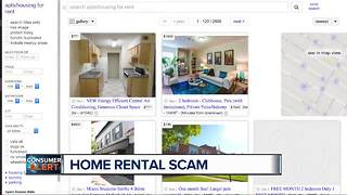 Home rental scam warning - Video