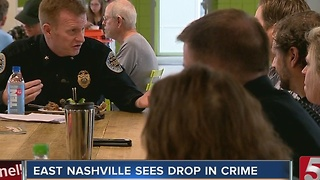 East Nashville Experiences Reduction In Crime - Video