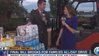 Bill Brooks' Food for Families Food Drive Friday - Video