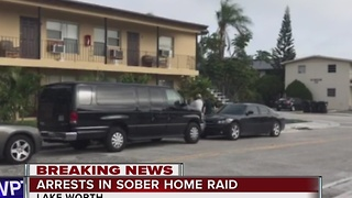 6 arrested in sober home raid - Video