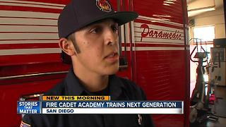 Cadet Adademy program inspires next generation of San Diego firefighters - Video
