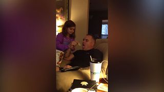 Dad Just Can't Stop Snacking - Video