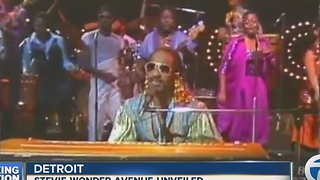 Stevie Wonder honored in Detroit - Video