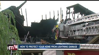 How to protect your home from lightning damage