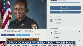 Orlando police warning about phone scam