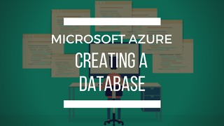 Azure: Creating a SQL Database - Video