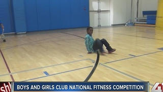 Boys and Girls Club National Fitness Competition - Video