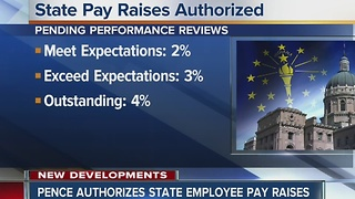 Pence authorizes pay raises for state employees - Video