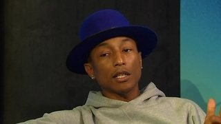 Pharrell Williams compares good music to a good relationship - Video