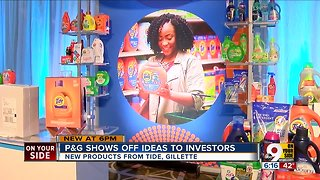 P&G shows off ideas to investors - Video