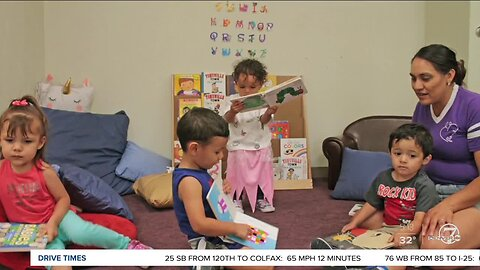 Florence Crittenton Early Learning Center sends books home with families