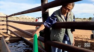 Daily life for 86-year-old woman on Navajo Nation