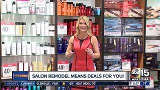 JCPenney revamping salons, offering freebies and deals - Video