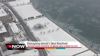 Four design firms will show off ideas for Detroit West Riverfront Park