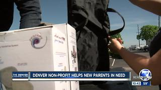 Denver nonprofit helps new parents in need. - Video