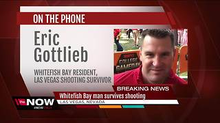 Man from Whitefish Bay survives Las Vegas shooting - Video