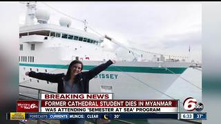 Indiana woman dies on 'Semester at Sea' trip in Myanmar - Video