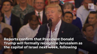 It's Happening: Trump Set to Make Major Announcement About Israel - Video