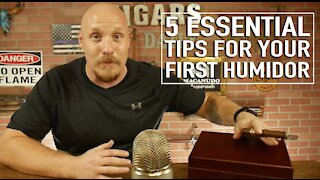 5 Essential Tips for your First Humidor