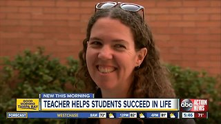 Hillsborough Co. teacher helps students by offering her home