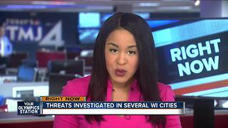 Police investigate WI school district threats - Video