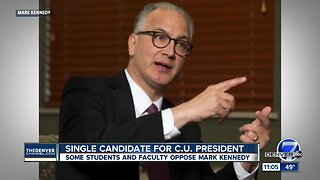 Vote expected on CU president candidate Mark Kennedy Thursday