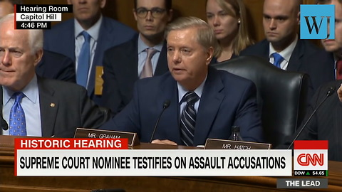 Lindsey Graham Goes Off On Committee Dems: 'The Most Unethical Sham Since I've Been In Politics'