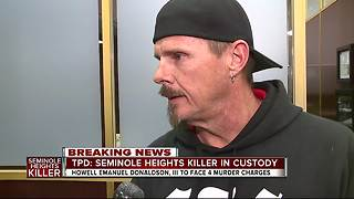 Uncle of Seminole Heights victim speaks after suspect arrested - Video