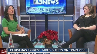 Christmas express takes guest on train ride - Video